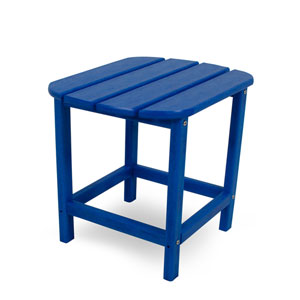 South Beach Adirondack Pacific Blue 18 Inch Side Table