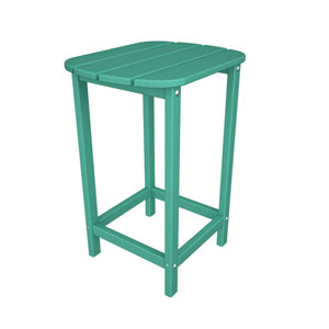 South Beach Adirondack Aruba 26 Inch Counter Side Table