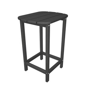 South Beach Adirondack Slate Grey 26 Inch Counter Side Table