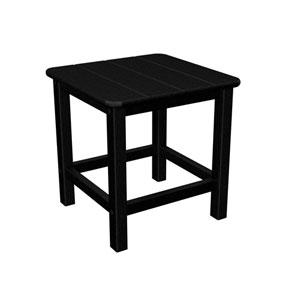 Seashell Adirondack Black 18 Inch Side Table