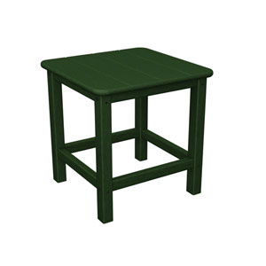 Seashell Adirondack Green 18 Inch Side Table