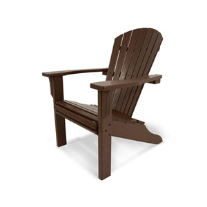 Seashell Adirondack Mahogany Adirondack Chair
