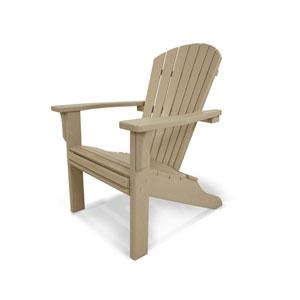 Seashell Adirondack Sand Adirondack Chair