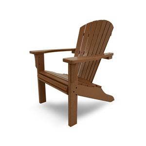Seashell Adirondack Teak Adirondack Chair