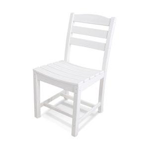 La Casa Café White Dining Side Chair
