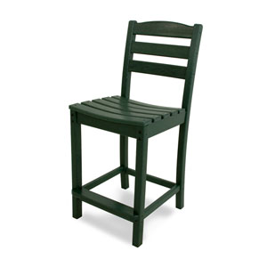 La Casa Café Green Counter Height Side Chair