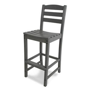 La Casa Café Slate Grey Bar Height Side Chair