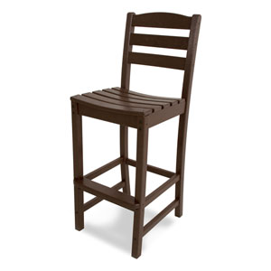 La Casa Café Mahogany Bar Height Side Chair