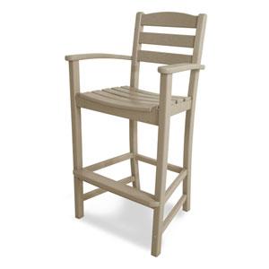 La Casa Café Sand Bar Height Arm Chair