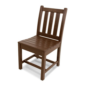 Traditional Garden Mahogany Dining Side Chair