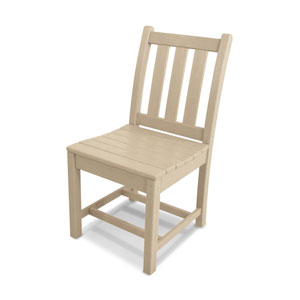 Traditional Garden Sand Dining Side Chair
