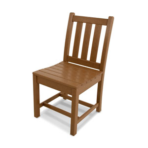 Traditional Garden Teak Dining Side Chair