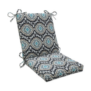 Agrami Black Tan Gray Chair Cushion