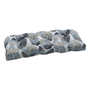 Hixon Black Tan Gray Loveseat Cushion