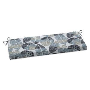 Hixon Black Tan Gray Bench Cushion
