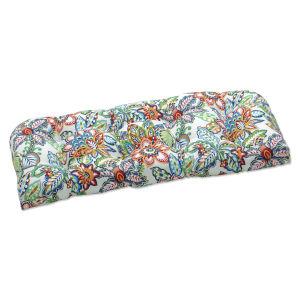 Copeland Blue Green Multicolor Loveseat Cushion
