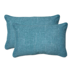 Tory Caribe Green Throw Pillow, Set of Two
