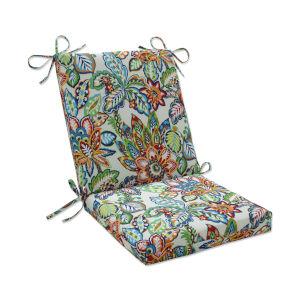 Copeland Blue Green Multicolor Chair Cushion