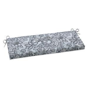 Copeland Black Gray Bench Cushion