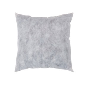 White Non-Woven Polyester 18-Inch Pillow Insert