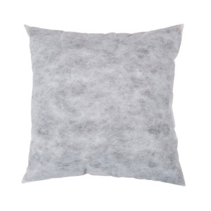White Non-Woven Polyester 22-Inch Pillow Insert