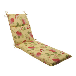 Outdoor Risa Chaise Lounge Cushion in Lemonade