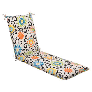Pom Pom Play Chaise Lounge Cushion in Lagoon