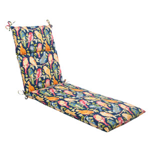 Outdoor Ash Hill Chaise Lounge Cushion in Navy