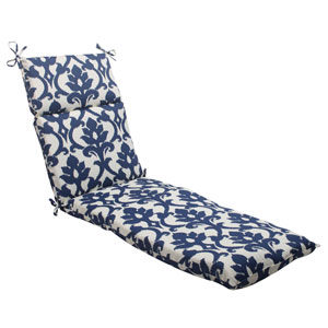 Outdoor Bosco Chaise Lounge Cushion in Navy