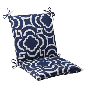 Outdoor Carmody Squared Chair Cushion in Navy