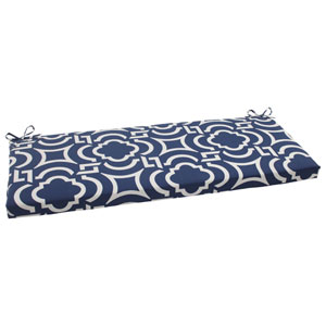 Outdoor Carmody Bench Cushion in Navy