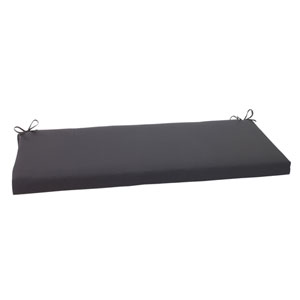 Outdoor Fresco Bench Cushion in Black