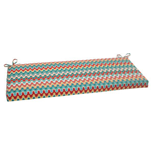 Outdoor Nivala Bench Cushion in Blue