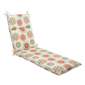 Outdoor Fairington Chaise Lounge Cushion in Aqua