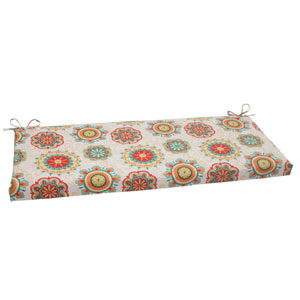 Outdoor Fairington Bench Cushion in Aqua