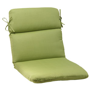 Outdoor Forsyth Rounded Chair Cushion in Green