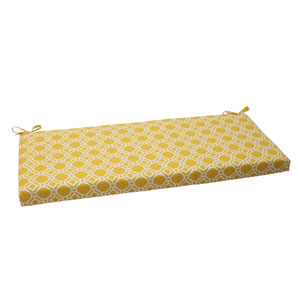 Outdoor Rossmere Bench Cushion in Yellow
