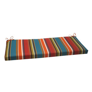 Outdoor Westport Bench Cushion in Teal