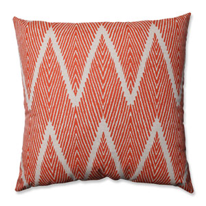 Bali Coral, Taupe Floor Pillow