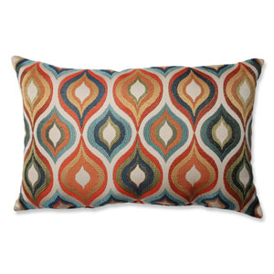 Flicker Jewel Multi Colored Pillow