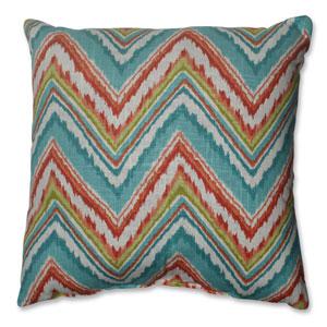 Chevron Cherade 16.5-inch Throw Pillow