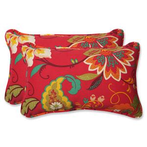 Tamariu Alfresco Valencia Rectangular Outdoor Throw Pillow, Set of 2