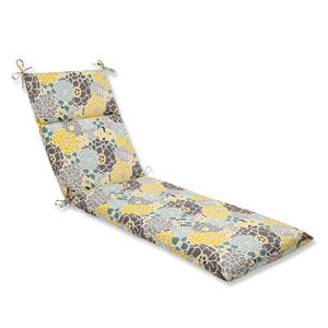 Outdoor / Indoor Full Bloom Chaise Lounge Cushion