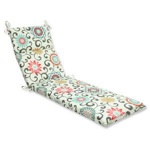 Outdoor / Indoor Pom Pom Play Peachtini Chaise Lounge Cushion