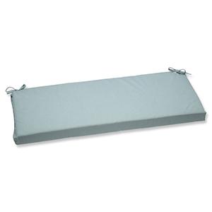 Canvas Blue Bench Cushion with Sunbrella Fabric