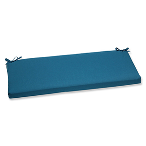 Spectrum Blue Bench Cushion with Sunbrella Fabric