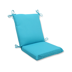 Veranda Blue Outdoor Squared Corner Chair Cushion
