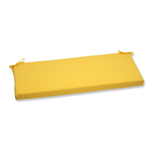 Fresco Yellow Outdoor Bench Cushion