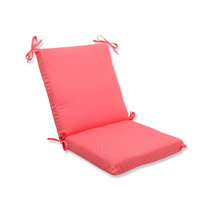 Fresco Pink Outdoor Squared Corner Chair Cushion