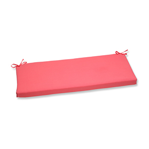 Fresco Pink Outdoor Bench Cushion